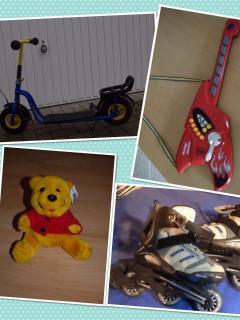 Viel Spielzeug für Drinnen € Draußen steht ihren Kindern bei uns zur Verfügung!
