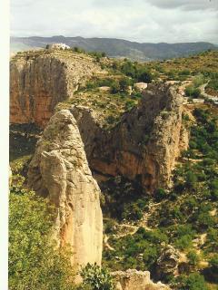 Mosen rock, climbing area