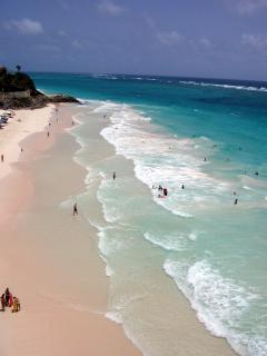 the famous Crane beach and resort - local to hideAway