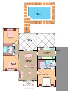 floorplan of hideAway