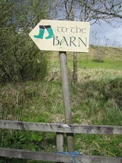 Cologin chalets and the barn bar are a perfect spot for a country walk