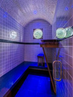 Private 6-8 person steam room