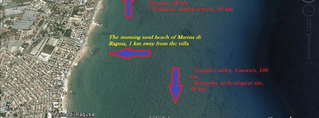 Where the villa is located