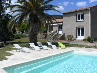 Berlou Villa with pool