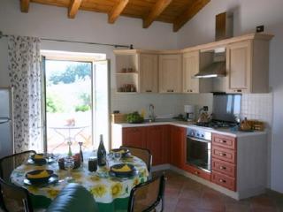 Appartamento Girasole  Salone e terrazzino privato (cucina con lavastoviglie)