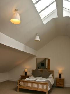 Skylights in the Master Bedroom