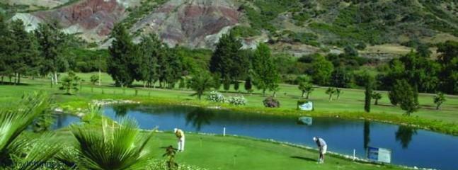 One of the  4 golf courses within 10 min drive