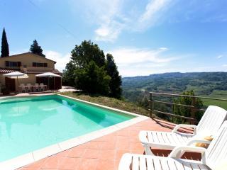 Casa Al Pino - villa in Tuscany, Riparbella hills