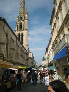 Ste Foy la Grande market day