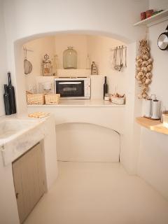 Typical Greek Kitchen