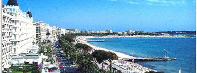 Panoramic view of magical Cannes