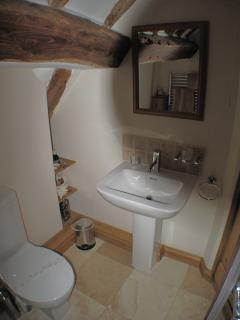 Ensuite Basin and Toilet.