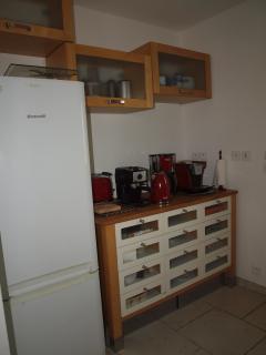 Quelques équipements de la cuisine