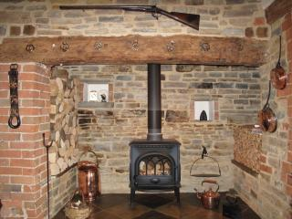 Fabulous Inglenook Fireplace.