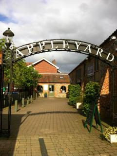 Appleyard - great kitchen shop, silk dress shop and coffee shops!