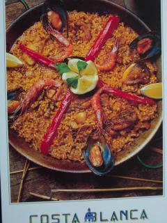 Paella - Eating Out Locally is international - Food from 8 Countries - 10 mins walk