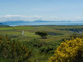 Enjoy stunning mountain and sea views from the house towards the Lleyn Peninsula and Snowdonia.