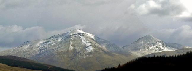 Arrochar Alps 1hour away by train