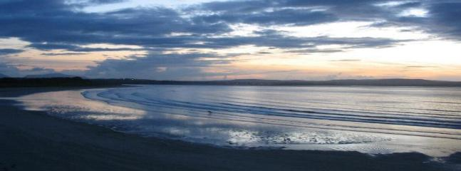 Enniscrone Beach late summer evening