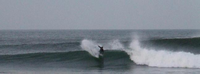 Easkey Right Winter Afternoon Surf - poor light great waves