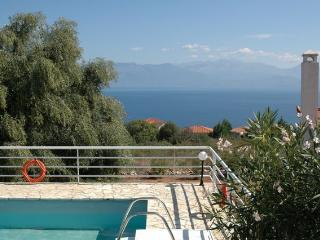 Villa Calliope.EOT licensed. Sea view, Private pool.
