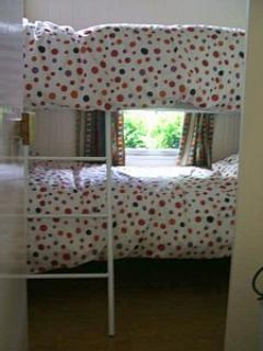 ready made up adult size bunk beds