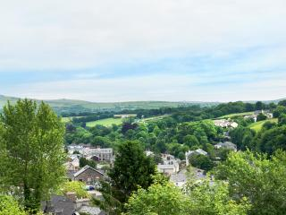 Views from garden over to Dartmoor