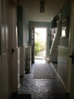 Woodpecker Cottage hallway