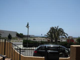 Frente a la playa de Palomares...