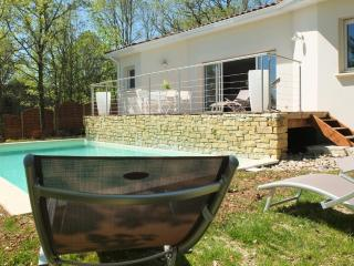 laviste house with heated pool, Puy-l'Eveque