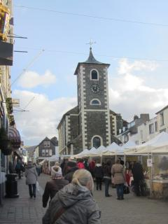 Keswick has a great selection of shops, pubs, cafes and a popular market also.