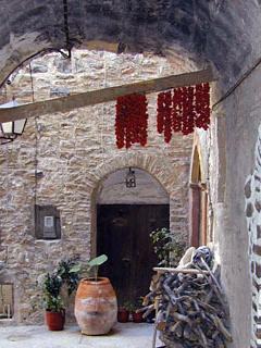 medieval village in the Southern part of Chios