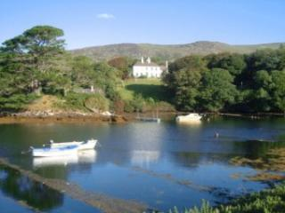 Westcove House, on the sea, overlooking Kenmare Estuary with optional catering