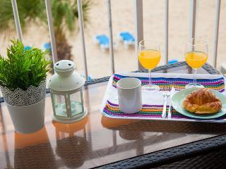 Desayuno en la terraza, un lujo