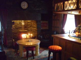 Your very own little pub with inglenook fireplace and logburner