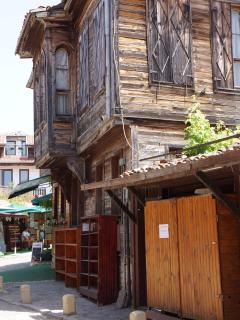 Old buildings in Nesebar.