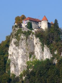 Bled Castle overlooking the Lake