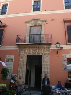 EXTERIOR DE LA CASA PALACIO LAS PALOMAS.