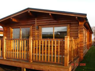 Malvern Lodges sleeps 4. Nordic Lodge sleeps 6, Falkland