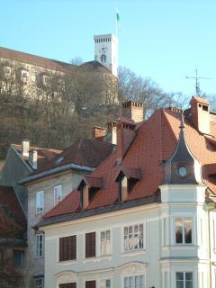 The capital Ljubljana, just 45 minutes drive