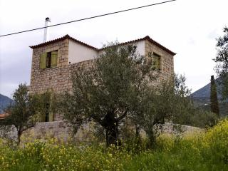 Maniot Stone House near sea, Agios Dimitrios