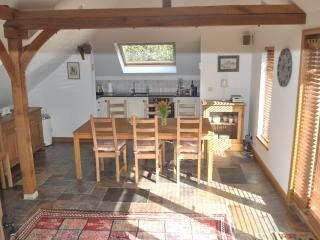 Little Apple Barn open plan living and dining