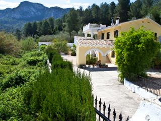 Casa Amarilla - rural villa with private pool, Xàtiva
