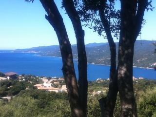 Villa,magnifique panorama sur la mer 2/4 personnes, Propriano