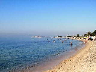 La spiaggia a 500 m. dalla casa