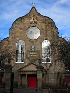 The Canongate Kirk.