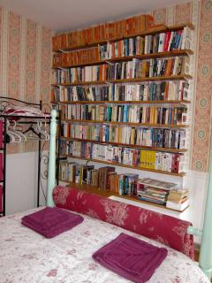 The library bedroom