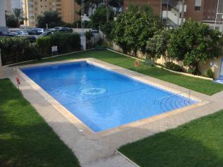 20 M Pool in resident's garden (with private changing area)