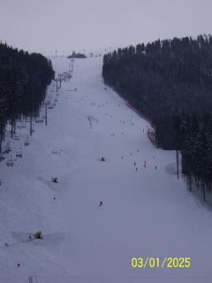 Alberto Tomba ski run. The 2012 world cup was held here. Try it for yourself.