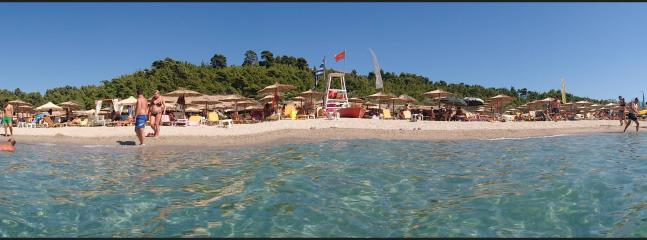 beach bar in posidi , 10 min drive from the property